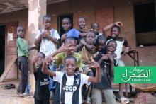 سيلبابي: أطفال يلوذون العام الماضي بمدرسة (ارشيف - الصحراء)