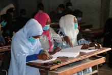 مدارس نواكشوط في اليوم الثاني من استئناف الدراسة ـ (المصدر: الصحراء)