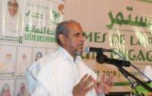 رئيس حزب تواصل محمد محمود ولد سيدي _ (المصدر:الإنترنت)