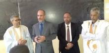 وزير التعليم الثانوي أثناء زيارته للثانوية العربية (انترنت)