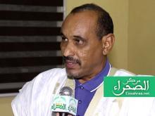 النائب البرلماني عبد السلام ولد حرمة-(المصدر: الصحراء)