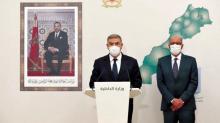 وزير داخلية المغرب لدى اعلانه نتائج الانتخابات