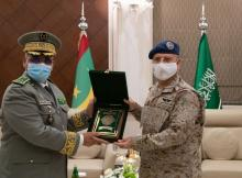 قائدا الأركان الموريتاني والسعودي