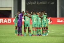 المنتخب الوطني للشباب قبل المباراة- المصدر (FFRIM)