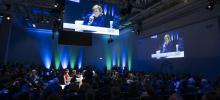 منصة المنتدى (المصدر: www.gffa-berlin.de)