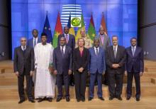المشاركون في الاجتماع المشترك بين دول الساحل والأوروبيين (و م أ)