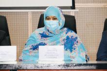 وزيرة السياحة الناها منت مكناس - المصدر (وزارة السياحة)