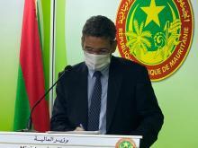 وزير المالية محمد الأمين ولد الذهبي- المصدر (الصحراء)