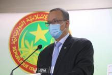 وزير الخارجية اسماعيل ولد الشيخ أحمد- المصدر (الصحراء)