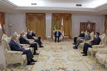 الوزير الجزائري في ضيافة الرئيس محمد ولد الشيخ الغزواني