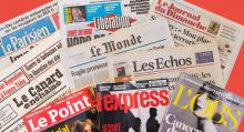 صحف فرنسية (المصدر: الانترنت)