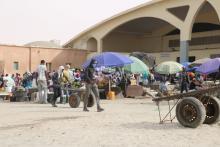 سوق السمك بالعاصمة نواكشوط - (المصدر: الصحراء)