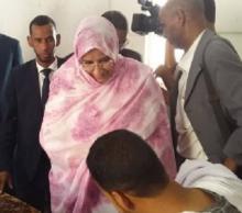 وزيرة التهذيب مكبولة بنت لمام ولد برديد - (المصدر: موقع الوزارة)