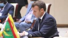 الرئيس الفرنسي خلال مشاركته في قمة نواكشوط ـ (أرشيف الصحراء)