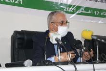 الناطق باسم الحكومة وزير الثقافة المختار ولد داهي ـ (المصدر: الصحراء)
