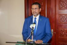 وزير الصحة محمد نذير ولد حامد -(المصدر: وما)