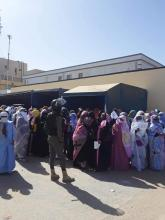 معلمون يحتجون أمام وزارة التهذيب ـ (المصدر: الإنترنت)