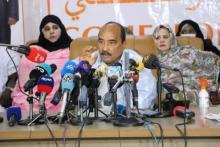 الرئيس السابق ولد عبد العزيز ـ (أرشيف الصحراء)