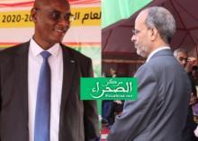 وزيرا التعليم الأساسي والثانوي (ارشيف الصحراء)