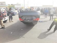 حادث سير بالعاصمة نواكشوط ـ (المصدر: الإنترنت)