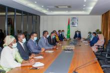 صورة من الاجتماع (المصدر: الوكالة الموريتانية للأنباء)