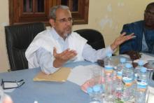 """محمد محمود ولد سيدي رئيس حزب """"تواصل"""" (ارشيف - انترنت)"""