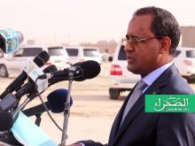 وزير التجهيز والنفل محمدو ولد امحيميد - (أرشيف الصحراء)