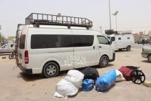 كامرا الصحراء في جولة لها اليوم داخل إحدى محطات النقل بنواكشوط