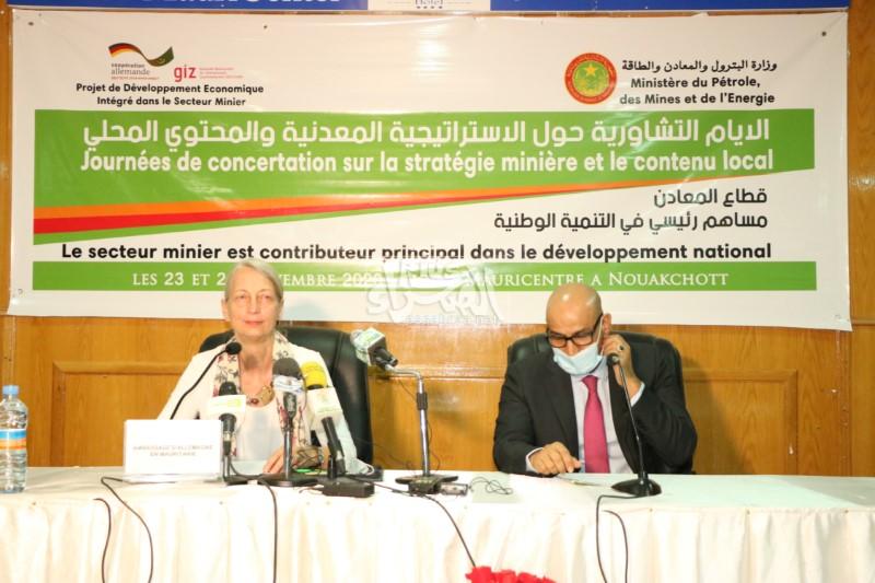 وزارة البترول تطلق أياما تشاورية حول المعادن ـ (المصدر: الصحراء)