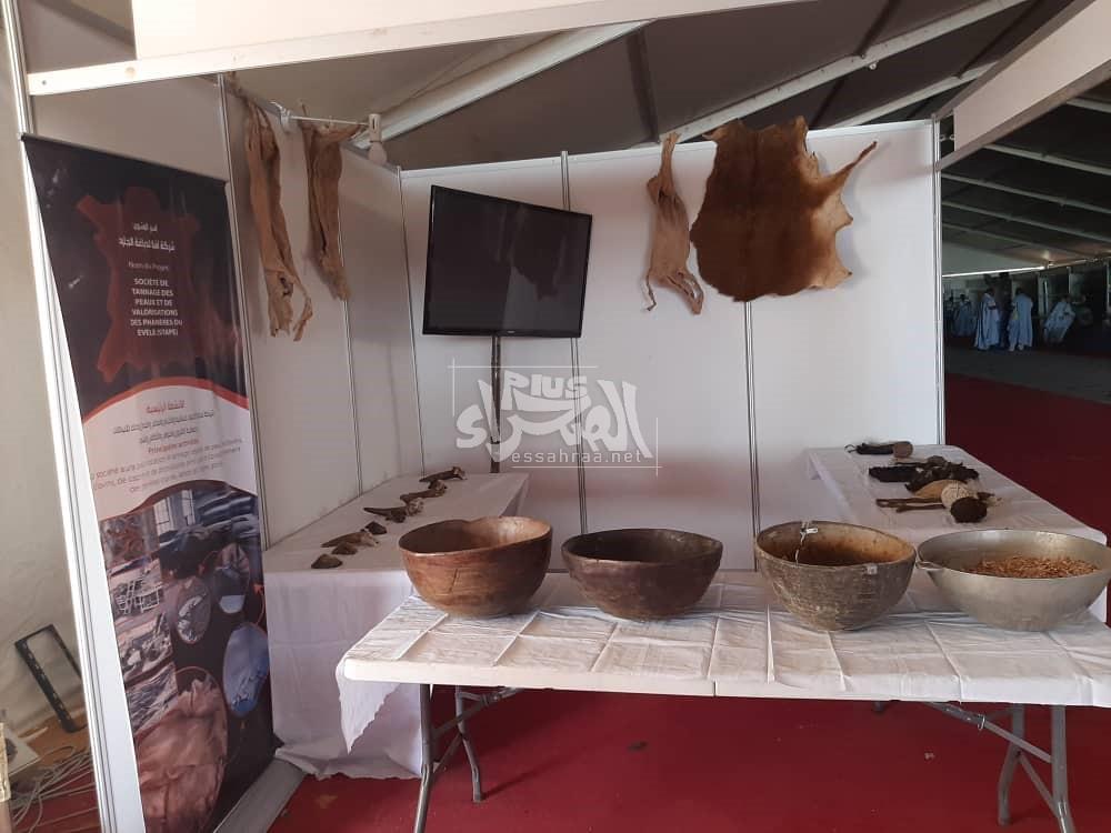 استعدادات لافتتاح معرض الثروة الحيوانية بمدينة تمبدغه ـ (المصدر: الصحراء)